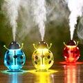 Mini Beetle LED Lamp USB Spray Humidifier Purifier 360 Degree Rotation Ladybug Night Light Travel Beetle Oil Aroma Spa Disffuser