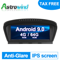 8.8 inch 8 Core Android 9.0 Auto Player GPS Navigation System Media Stereo For BMW 3 Series E90 for BMW 5 Series E60 with CCC