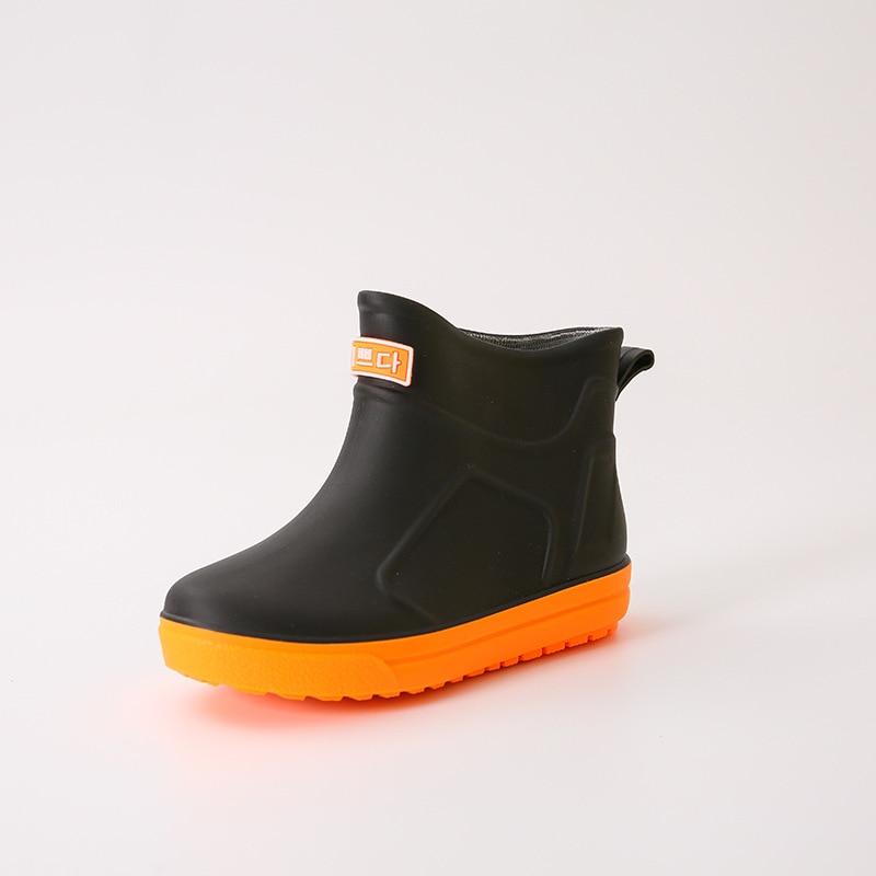Waterproof Kid Rainboots Baby Toddler Rubber Rain Shoes Boys Girls Rain Boots Non-slip Children Kids Boy Girl Rain Shoes Cute