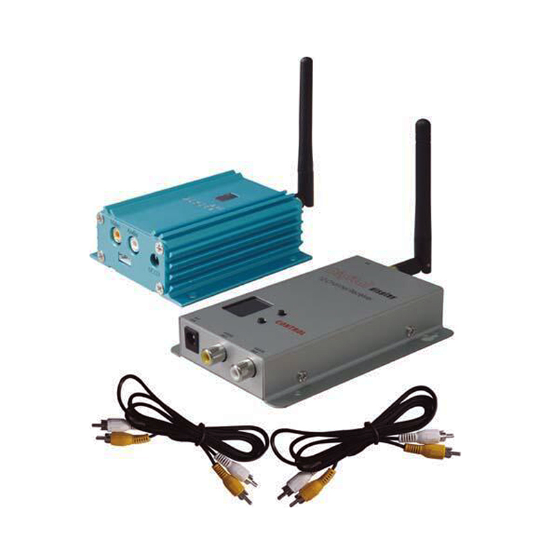 Smart Security Partom video system 2.4G 2.4GHZ 2000mW 12CH Wireless Audio&Video transmitter and receiver long range
