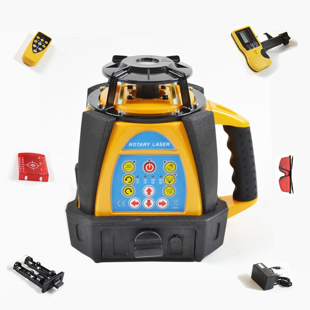 Self leveling Rotary laser level 500M range high accuracy rotating laser level