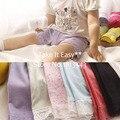 Горячие девочки лета малышей короткие конфеты цвет безопасности короткие штаны нижнее белье с кружевами 7 цвета 3 размер принцесса