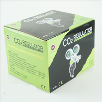 UP AQUA Dual Gauge Aquarium CO2 System Regulator With Solenoid Magnetic Valve Control