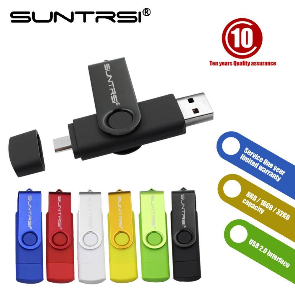Suntrsi USB Flash Drive 64GB High Speed Pendrive Smart