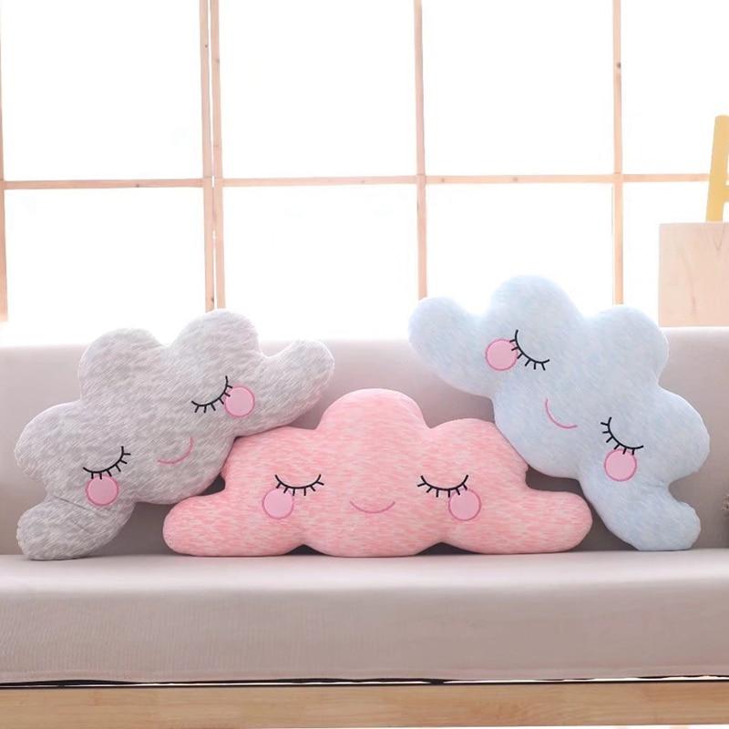 1 Pc 65 Cm Schöne Sky Serie Kissen Kawaii Cloud Plüsch Spielzeug Gefüllte Weiches Kissen Nizza Sofa Kissen Kawaii Weihnachten Geschenk Für Mädchen