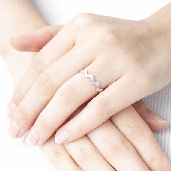 SMJEL женское кольцо зигзаг кольца на большой палец для женщин девочек Свадебная вечеринка подарок украшение кольцо «Змея» 2019