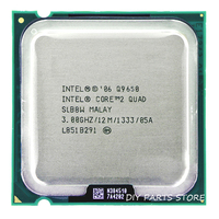 INTEL Core 2 QUDA Q9650 CPU Processor 3 0Ghz 12M 1333GHz Socket 775