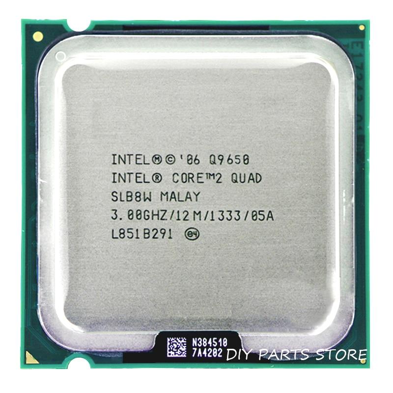 INTEL Core 2 Quad Q9650 CPU Q9650 intel core 2 quad Processor Q9650 3.0Ghz/12M /1333GHz) Socket 775