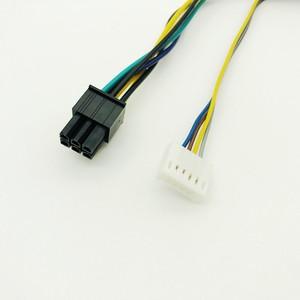 Image 4 - 30 CM Modulare Netzteil Kabel ATX 24Pin 24 Pin Weibliche zu 6Pin 6 Pin Männlichen Mini 6Pin Stecker für HP Elite 8100 8200 8300 800G1