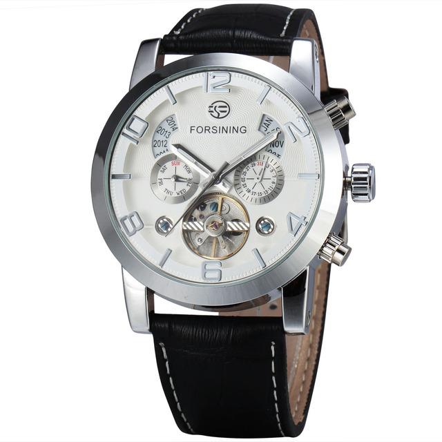 Reloj automático y mecánico de lujo
