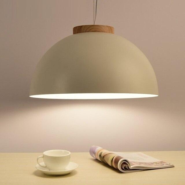 LukLoy Modern LED Pendant Lights Wood Kitchen Light Fixture Modern Pendant Ceiling Lamps Loft for The Kitchen Nordic Hanglamp