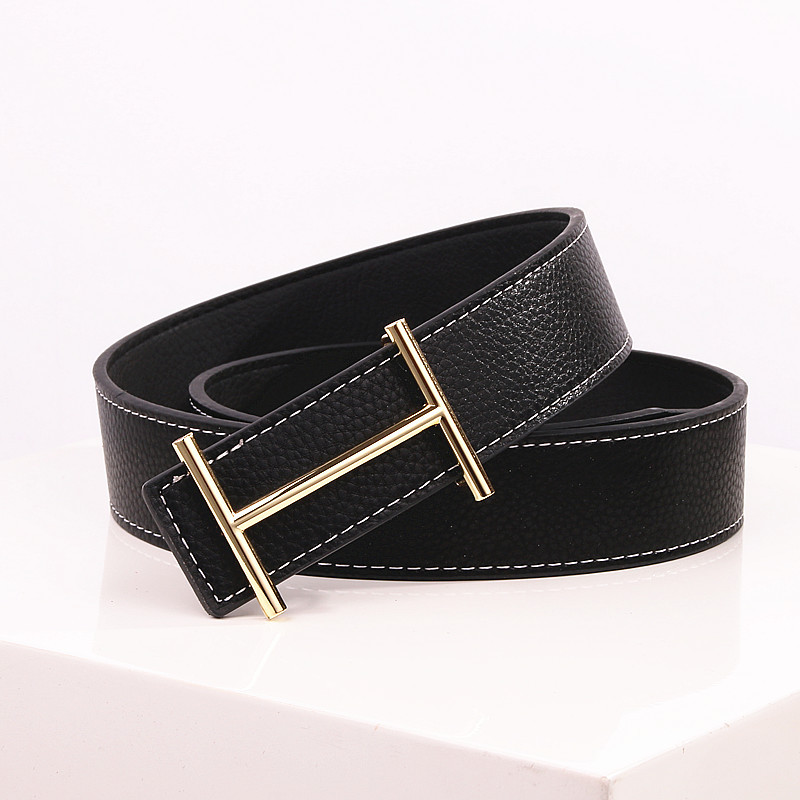 Casual H Designer Luxury Brand Belts for Mens Genuine Leather Male Women Jeans Vintage Fashion High Quality Strap Waistband 25