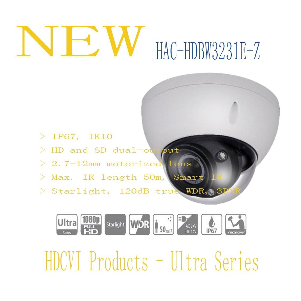 DAHUA CCTV Security Camera 2MP Full HD Starlight HDCVI IR Dome Camera IP67 IK10 without Logo