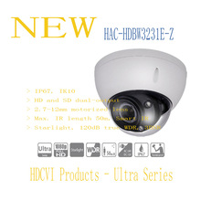 DAHUA CCTV Security Camera 2MP Full HD Starlight HDCVI IR Dome Camera IP67 IK10 without Logo HAC-HDBW3231E-Z