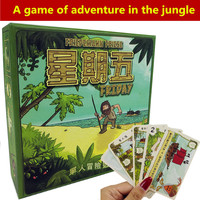 Friday Board Game For 1 Player Games Adventure Cards Game Easy To Play With Free Shipping