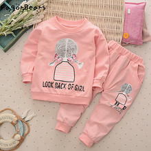 FagorBears 2017 New Fashion Boys Girls Clothings Sets Autumn Children's Clothes Long Sleeves Shirt+Pants 2Pc For Kids Clothings