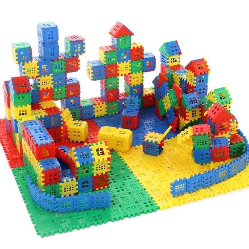 Gerade 100 Stück/set Von Kunststoff Digitale Modell Bausteine Mathematik Lernen Pädagogisches Spielzeug Getriebe Block Ziegel