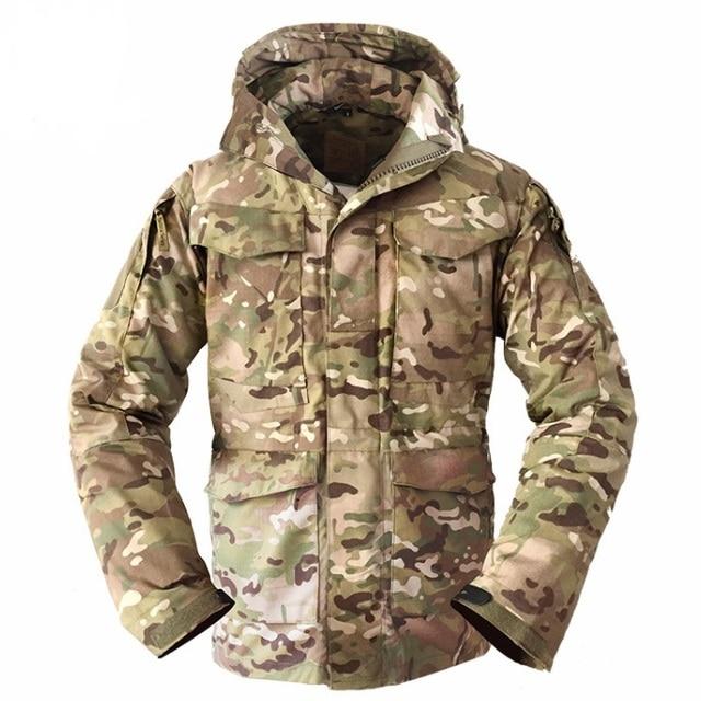37a95dfa1e3 s.archon M65 Army Clothes Tactical Windbreaker Men Winter Autumn Jacket  Waterproof Wearproof