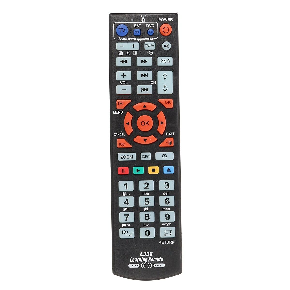 Универсальный ИК Интеллектуальные удаленные Управление ТВ Smart Remote Управление для DVD CBL СБ ТВ коробка английский шрифт с узнать Функция