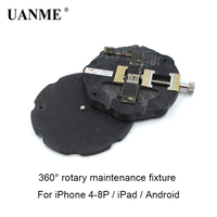 UANME Supple Universal Phone motherboard fixture for iphone 5 6 6SP 7 8P fixed 360 rotary fixture for ipad and for android