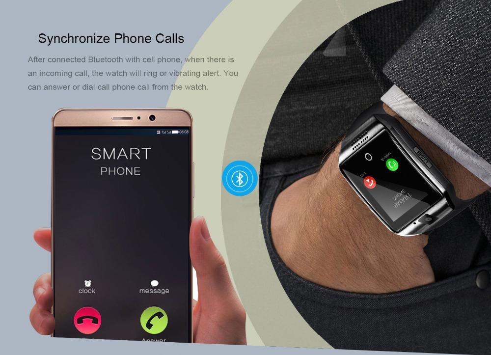 5a55cb59e84 ... chamada de telefone do relógio. Smart-Watch 06.   Reprodução de música