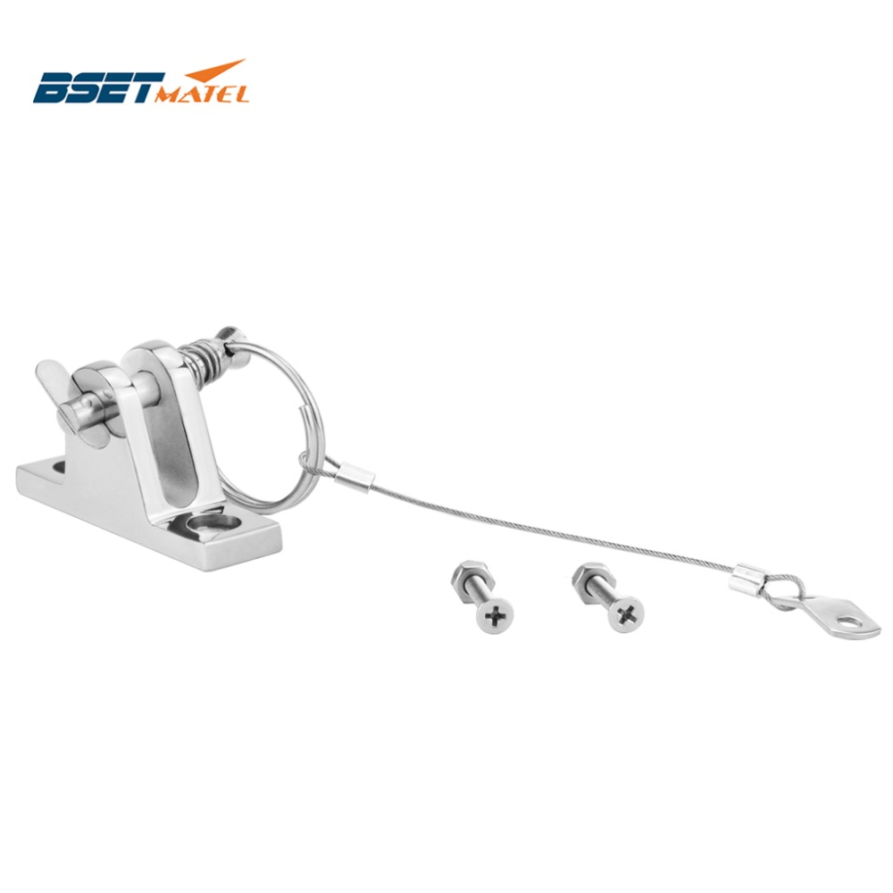 BBT 316 Marine Grade Stainless Steel Bimini Top Quick Pin with Ring