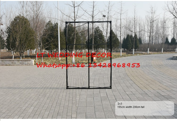 Exhibition Stand Frame : 155cm*230cm aluminum flower wall stand frame for tradeshow