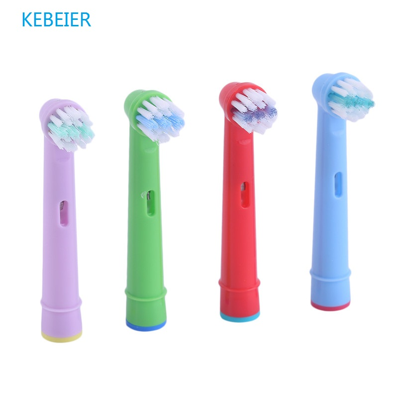 Replacement Tooth Brush Heads For Oral B EB-10A Pro-Health Stages Electric Toothbrush Oral Care for Kids Children image