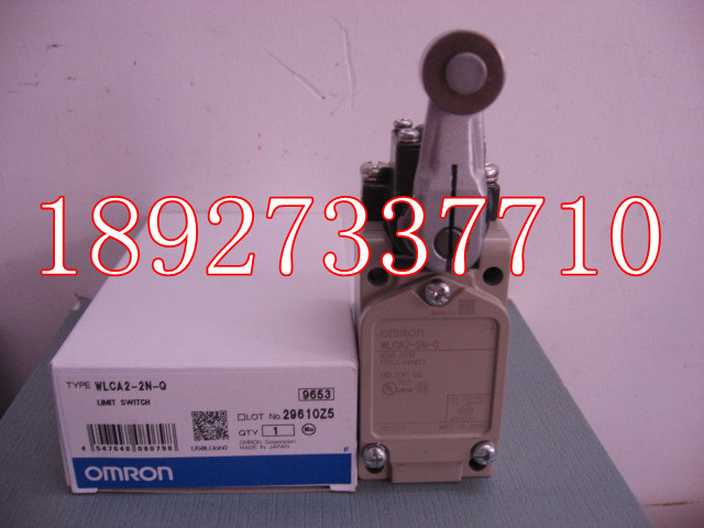 [ZOB] Supply of new original Omron omron limit switch WLCA2-2N-Q  --2PCS/LOT [zob] supply of new original omron omron limit switch shl w2155 5pcs lot