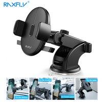 Raxfly universal suporte do telefone carro para o iphone x xs 8 plus 360 rotação celular suporte para huawei companheiro 10