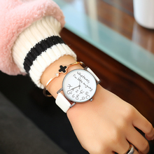 Nova Moda Mulheres Relógio Criativo de Qualquer Maneira Tudo O Que Eu estou Atrasado Causal Relógio de Quartzo Relógio de Pulso Ladies Dress Watch Relogio feminino Quente