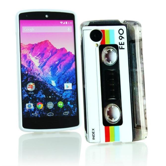 OEEKOI модное платье с цветочным узором с принтом, мягкий из ТПУ гелевый бампер чехол для телефона для LG Google Nexus 5 E980
