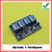 Free Shipping 2pcs MCU development board 4 5v relay support AVR / 51 / PIC relay module (C2A1)