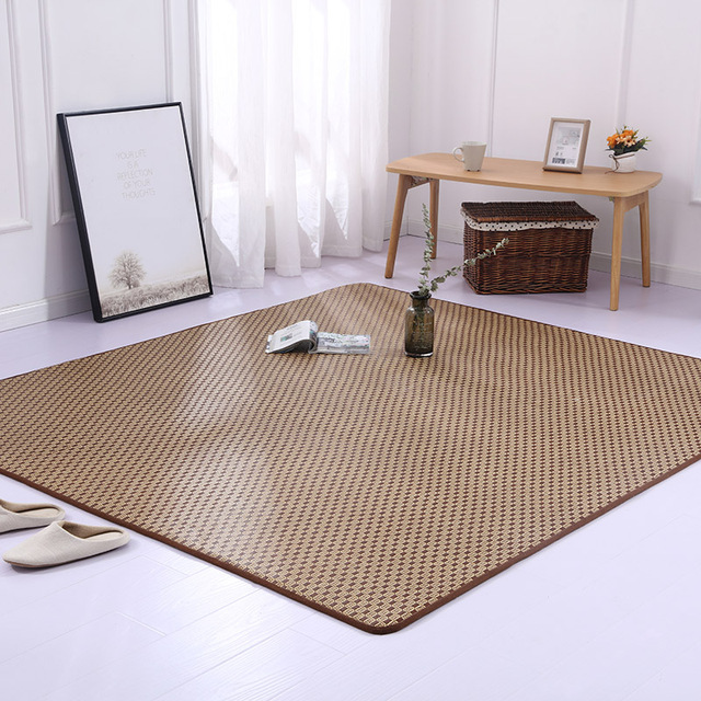 Plant Fiber Foldable Large Summer Rattan Seat Tatami Mat Bedroom ...