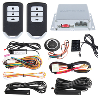 EASYGUARD компания PKE пассивный rolling код Авто сигнализация дистанционный стартер кнопка старт стоп ввода пароля smart key