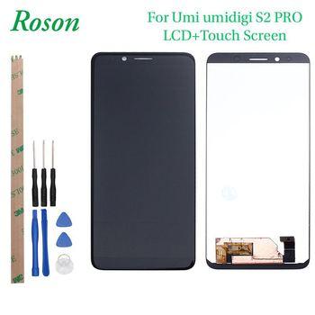 Roson 대 한 UMI x2 UMIDIGI S2 PRO LCD Display 및 Touch Screen 와 Frame Assembly 교체 와 툴 + 막 대 한 UMIDIGI S2 PRO