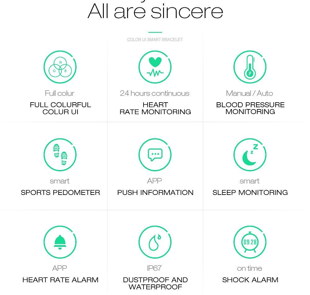 Digitale Uhren Herrenuhren Skmei Fitness Frauen Smart Uhr Männer Bluetooth Herzfrequenz Blutdruck Schrittzähler Uhr Led Sport Uhr Für Android Ios B30