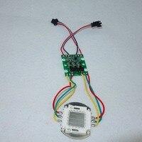 DC36V вход 30 Вт высокой мощности WS2811 контролируемых светодиодный пиксельный модульный; RGB полноцветный