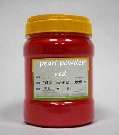 500 г бесплатно фиолетовый цвет натуральная минеральная пудра MICA порошок сделай сам для мыла краситель для мыла макияж тени для век порошок пигмент для окрашивания автомобиля - Цвет: red