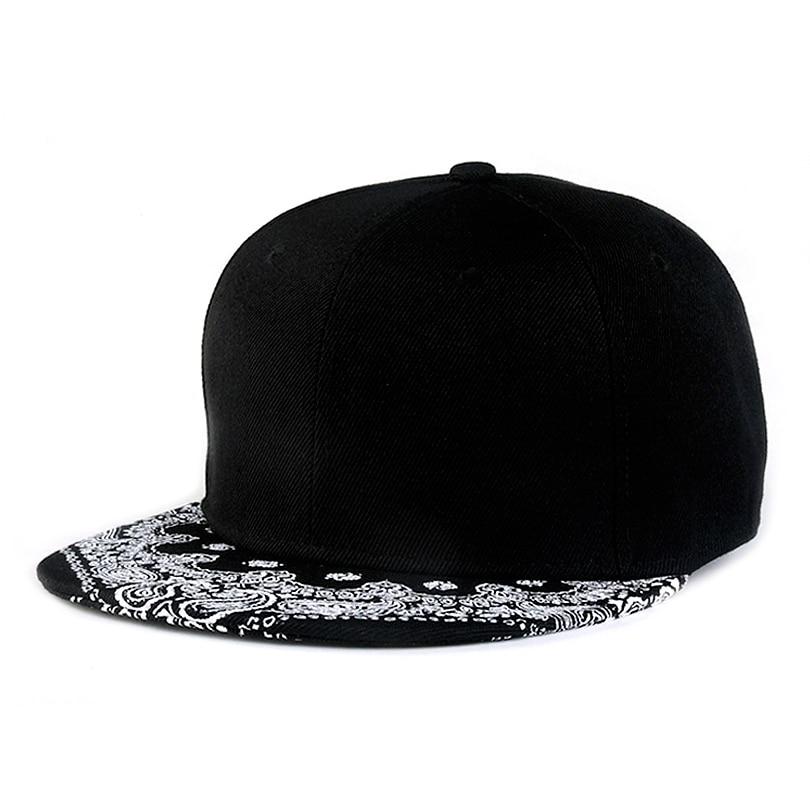 c6ef4ff5416 Trendy 2017 Han edition vintage Paisley brim bone snapback caps hip hop  gorras planas 002-in Baseball Caps from Men s Clothing   Accessories