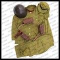 WW2 Японской Армии Чжао У Солдат Единая Устанавливает Куртка и Брюки Шляпа JP/50105