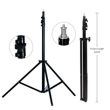 280cm/9ft Heavy Duty Light Stand for Light TV Station Photographic Studio Tripods