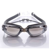 Waterproof Swimming Goggles Anti Fog UV Protection Swim Glasses With Earplug Water Sports Eyewear