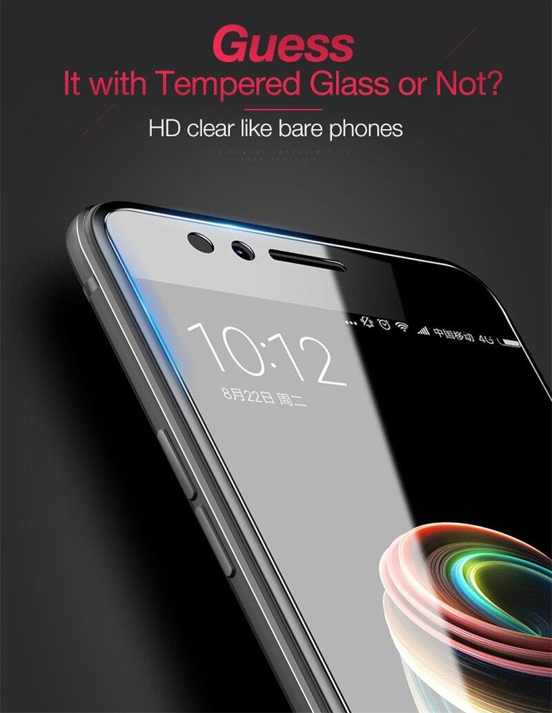 Cafele Tempered Glass For Xiaomi Redmi Phone Protective Screen Original Note 5 4x