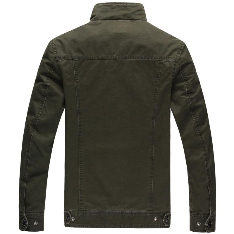 Moška jakna velike velikosti plus velikost 6XL vojaški stroški - Moška oblačila - Fotografija 3