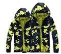 HOT 2016 primavera nueva chaqueta de camuflaje de los hombres mujeres pareja chaqueta de camuflaje a prueba de viento Delgado primavera casual Sudaderas Con Capucha Sudaderas