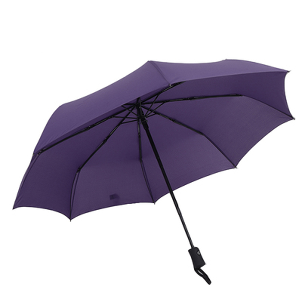 Men business big umbrella Fully Automatic 3 Fold Strong Waterproof Windproof umbrella