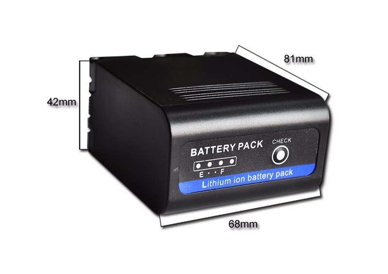 Newest 7800mAh rechargeable battery fits for JVC70 3 6v 2400mah rechargeable battery pack for psp 3000 2000