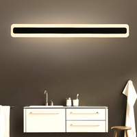 Nowoczesne LED lampki lustrzane 0.4M ~ 1.2M kinkiet łazienka sypialnia zagłówek kinkiet lampe deco Anti fog espelho banheiro w Wewnętrzne kinkiety LED od Lampy i oświetlenie na