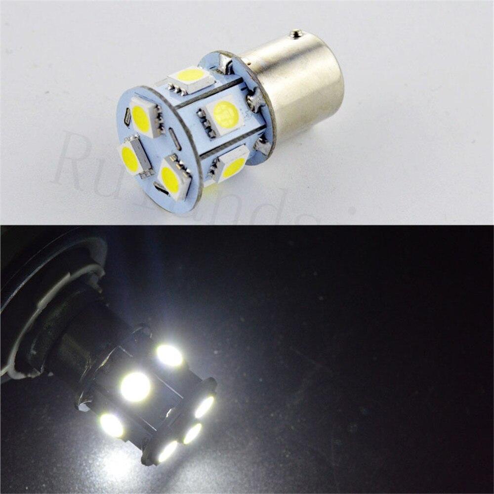 2/4/10шт/лот 1156 7506 P21W BA15s из категории r10w R5W 5050 9 светодиодных автомобилей тормозные лампы Обратный лампы автомобилей 24V Белый